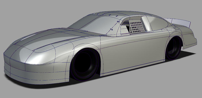 Nurbs Car Model